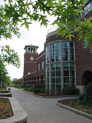 "Truman State University - ""The Bubble"" of the Pickler Memorial Library"