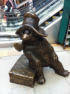 Statue of Paddington Bear