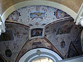 Palazzo al canto di sant'anna, androne su via feisolana, affreschi 12.JPG