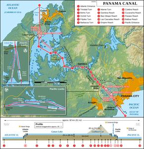 パナマ運河's relation image