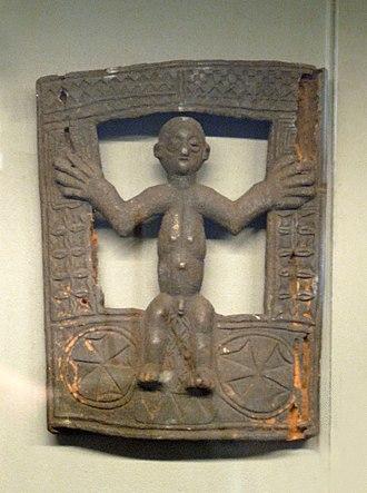 Nzambi a Mpungu - Nzambi santu sculpture probably recalling Christ on the cross