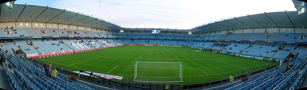 Pano of Swedbank Stadion