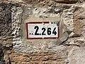 Panonceau PK 2,264 Route N79 Route St Laurent Replonges 2.jpg