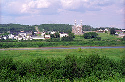 Skyline of Sainte-Anne-de-Madawaska