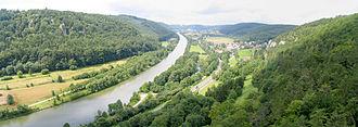 Altmühl - The Altmühl as part of the Main-Donau-Kanal near Riedenburg
