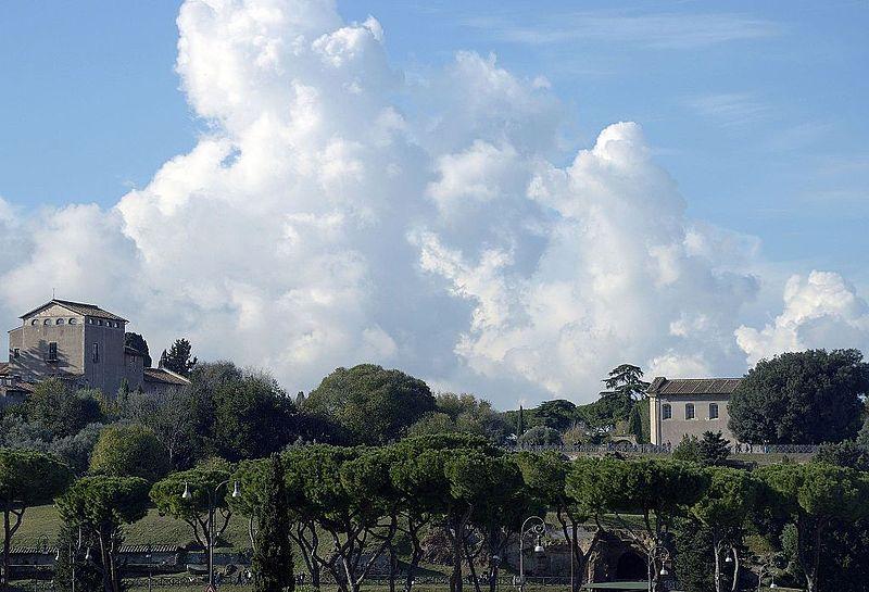 File:Panorama of the Palatino with The church of San Bonaventura and San Sebastiano.jpg
