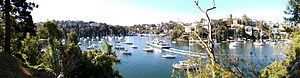 Mosman Bay - Panoramic view of Mosman Bay, from Cremorne Point
