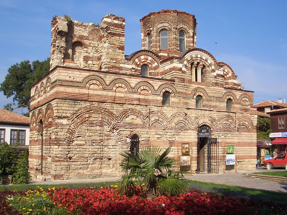 Pantokrator church in Nessebar (Bulgaria)