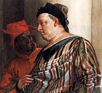 Paolo Veronese - Feast in the House of Levi (detail) - WGA24885.jpg