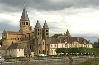 basilica located in Saône-et-Loire, in France