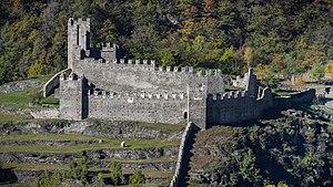 Grosio - Image: Parco Grosio Castello Nuovo SE