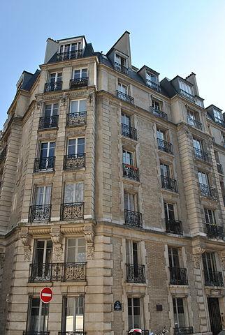Париж. Дом, в котором жили Бунины