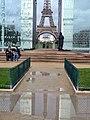 Paris 75007 Mur pour la Paix Eiffel Tower 20080415.jpg