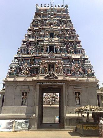 Pariyur Kondathu Kaliamman - Main Gopuram