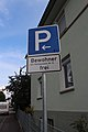Parkplatzschild Bietigheim Bissingen02092017.JPG