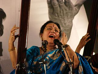 Parween Sultana Indian classical singer