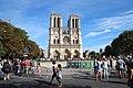 Parvis Notre-Dame fermé par la police à Paris le 14 août 2016 - 06.jpg