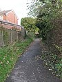 Path from Five Heads Road to Bridget Close - geograph.org.uk - 1581451.jpg