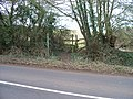 Path leaves the road - geograph.org.uk - 1732142.jpg