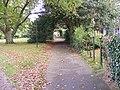 Path to St.Mary the Virgin,Martlesham - geograph.org.uk - 1021198.jpg
