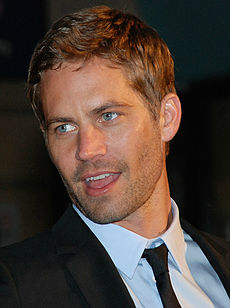 Paul Walker vid Leicester Square vid premiären av Fast and Furious 2009.