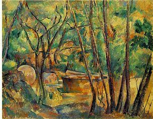 Millstone and Cistern under Trees (La Meule et citerne en sous-bois)