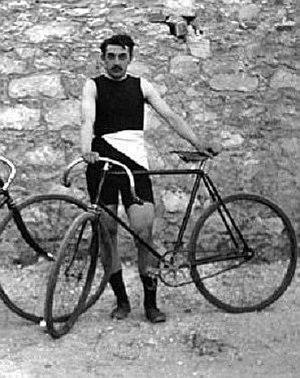 Paul Masson (cyclist) - Image: Paul Masson, Athens 1896