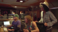 "Paul Santo, Steven Tyler, Joe Perry recording at The ""Boneyard"" Studio.png"