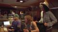 "Paul Santo, Steven Tyler, Joe Perry recording at The ""Boneyard"" Studio.png"
