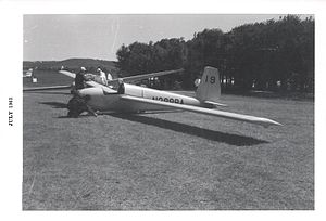 Schweizer SGS 1-29 - Paul Schweizer's 1-29 at the 1963 US Soaring Championships at Harris Hill, Elmira, NY