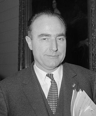 Paul Vanden Boeynants - Paul Vanden Boeynants in 1966