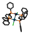 Pd2Cl2(CO)(dppm)2 3D skeletal.png