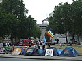 Peace protest camp, London - geograph.org.uk - 908925.jpg