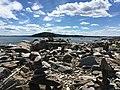 Peaks Island, Maine beach rocks.jpg
