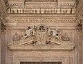 Pediment CoA Archbishop fray Diego Fernandez de Villalan, Catedral, Almeria, Spain.jpg