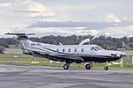 Pegasus Air (VH-PIL) Pilatus PC-12-47E taxiing at Wagga Wagga Airport.jpg