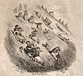 People sliding down a hill in Malvern. Wood engraving by O.T Wellcome V0011237.jpg