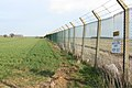 Perimeter fence around RAF Alconbury - geograph.org.uk - 757093.jpg