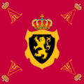 Personal Standard of King Albert II of Belgium.png