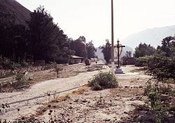 A railroad near Matucana