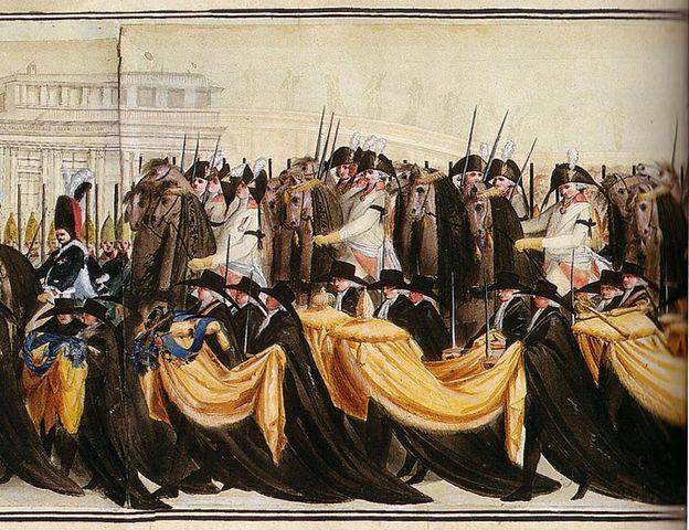 Перезахоронение останков Петра III