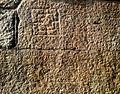 Petroglyphs on rock walls at Varadaraja Swamy Temple in Kanipakam 01.jpg