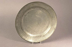 Pewter - Image: Pewterplate exb