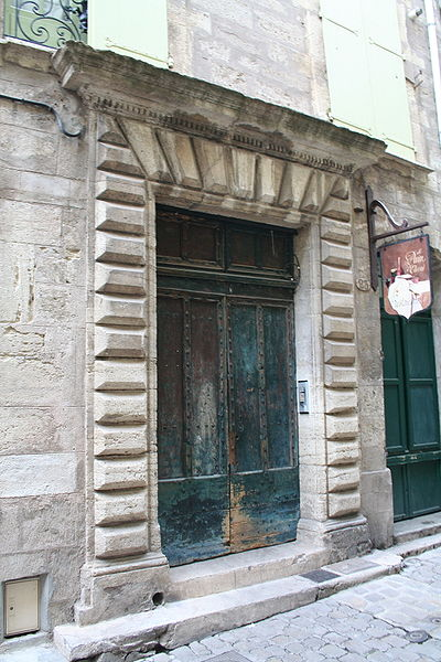 Pézenas (Hérault) - Rue de la Foire - Porte 23.