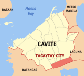 Ph locator cavite tagaytay.png