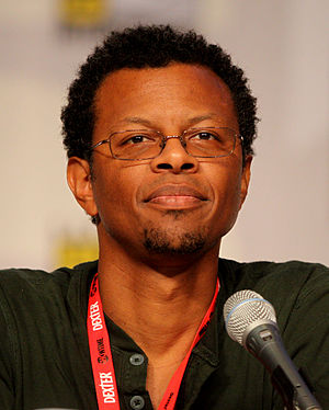 Phil LaMarr - LaMarr at San Diego Comic-Con International promoting Futurama.