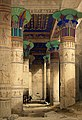 Philae, Egypt; the hypostyle hall within the temple of Wellcome L0021558.jpg