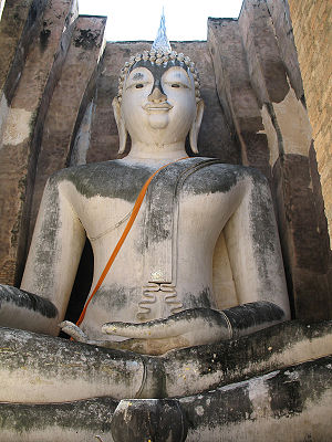 Sukhothai Province - Phra Achana in Wat Si Chum Chapel, Sukhothai National Historical Park