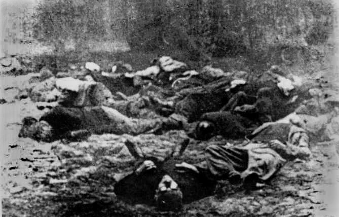 Piaśnica bodies of victims
