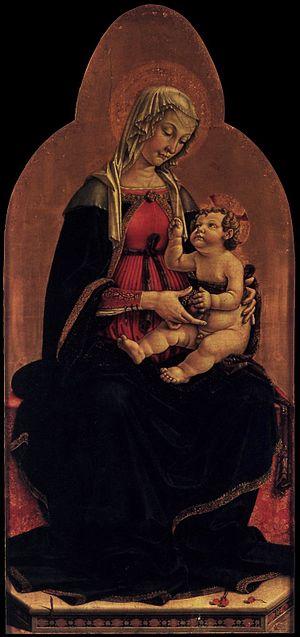 Piermatteo Lauro de' Manfredi da Amelia - Madonna and Child (1481), Gemäldegalerie, Berlin